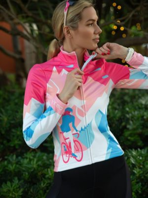 Thermal Cycling Jersey Think Pink