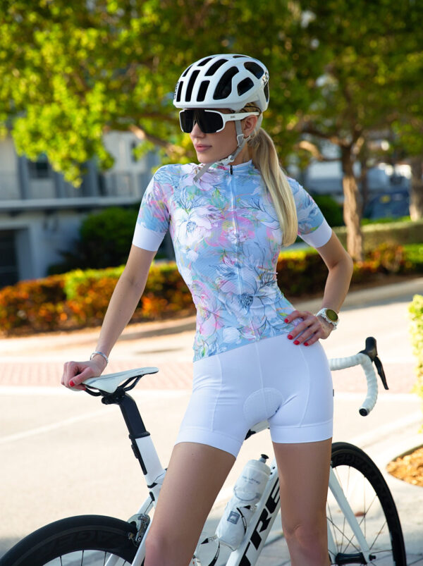 Cycling Jersey Blue Paradise