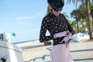 Cycling Gloves Babe Pink