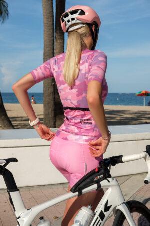 lanafox 2 scaled 300x450 - Cycling bib shorts bubblegum pink